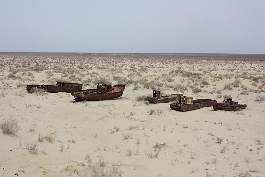 Cotton monoculture has desolated communities like Moynaq, Aral Sea, Uzbekistan [Photo: A. Zwegers]