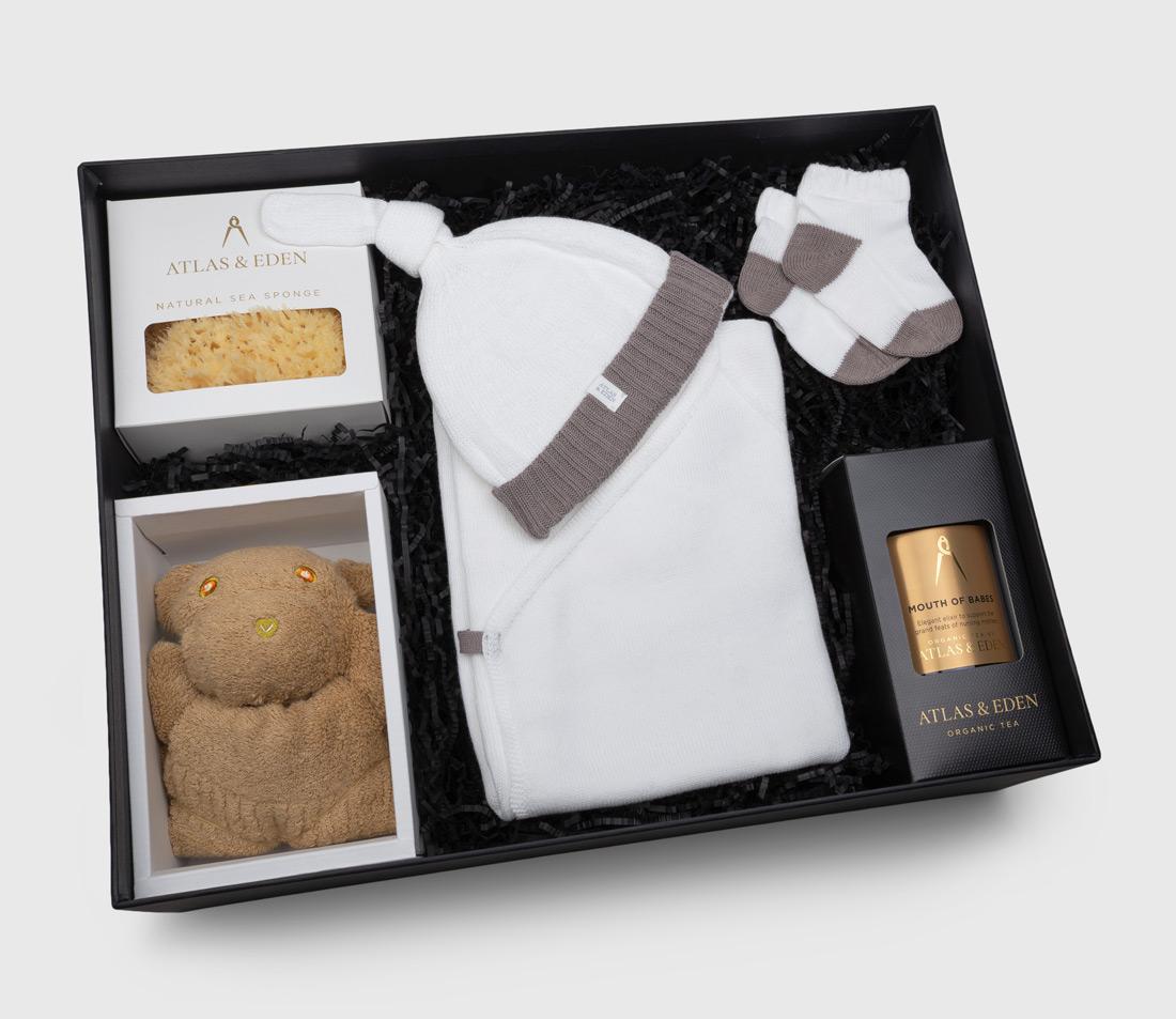 organic-baby-girl-boy-neutral-knitwear-gift-box-hamper-premium-mothers-tea-inside