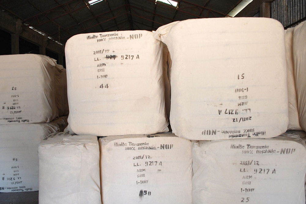 Ecologically & ethically cultivated organic cotton en route from Tanzania [Photo: REMEI]