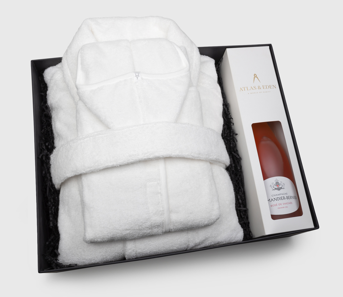organic-mother-baby-girl-boy-neutral-bath-robe-gift-box-hamper-rose-champagne