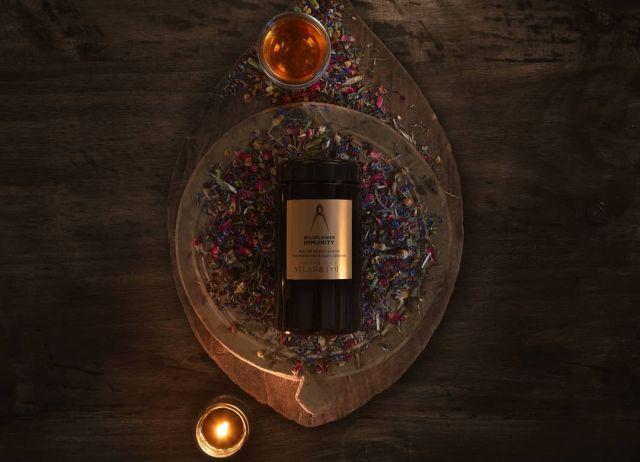 WILDFLOWER IMMUNITY ORGANIC TEA  Our fine-crafted Arcadian tisane designed to support immune health & seasonal symptomatic relief.  atlasandeden.com.au/shop/tea/organic-tea/wildflower-immunity-organic-tea/