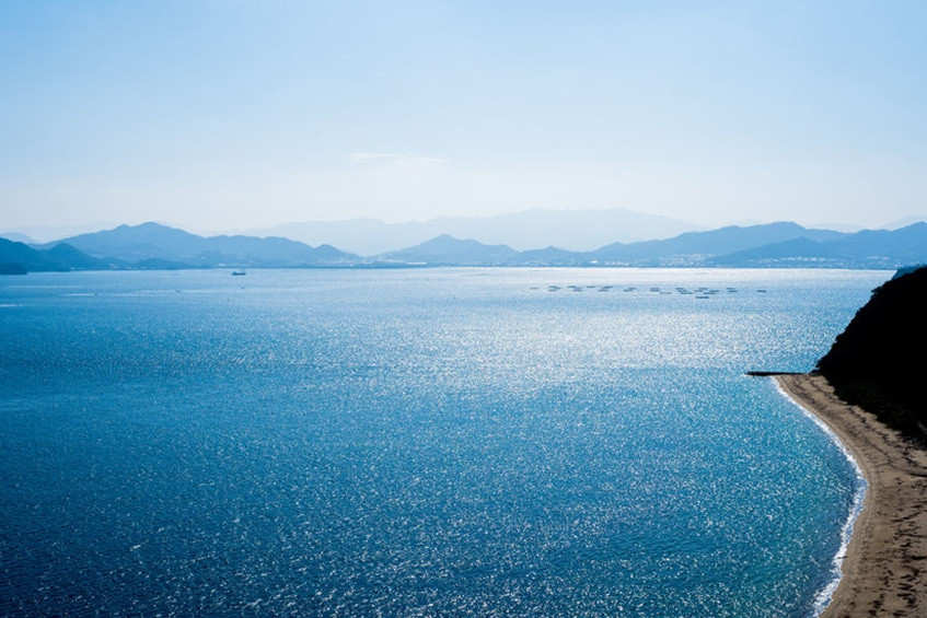 Ikeuchi's recycled wastewater is clearer than the Seto Inland Sea
